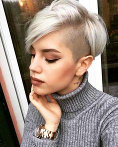 Kurze Haarschnitte für Frau-17