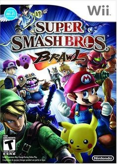 Brawl is a fighter released in 2008 for the Wii. It is the third installment in the Super Smash Bros. The game sees well-known characters from a variety of popular Nintendo franchise such as Super Mario Bros. Super Smash Bros Brawl, Super Mario Bros, Kirby Nintendo, Nintendo 3ds, Nintendo Switch, Super Nintendo, Nintendo Consoles, Playstation, Xbox 360