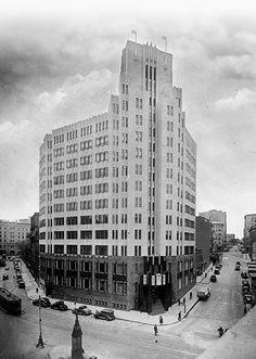 Art Deco City Mutual Building, Sydney, Austrailia