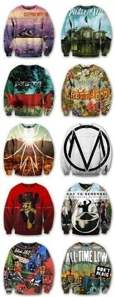I really only like the Paramore, Panic! At The Disco, and Blink-182 ones... i love those bands :)