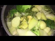 Healthy homemade broccoli soup - YouTube