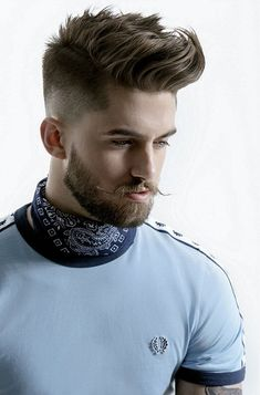 Short Beard Styles the collection of hair that grows on the chin and cheeks of humans and some non-human animals. Styles for men and Beard styles. Emo Hairstyles For Guys, Very Short Bob Hairstyles, Mens Summer Hairstyles, Popular Mens Hairstyles, Bob Hairstyles 2018, Hipster Hairstyles, Summer Haircuts, Creative Hairstyles, Boy Hairstyles