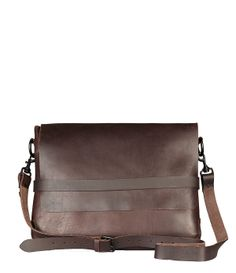 Leather Messenger Bag All Saints f5529d7b75600