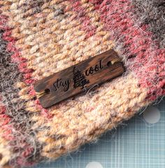 Wooden clothing labels custom garment labels personalized