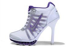 best service 7b9cc 3e010 Air Max 2009 High Heels Nike White Purple