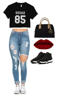 """""""street style"""" by heidy-zamudio on Polyvore featuring Michael Kors, women's clothing, women's fashion, women, female, woman, misses and juniors"""