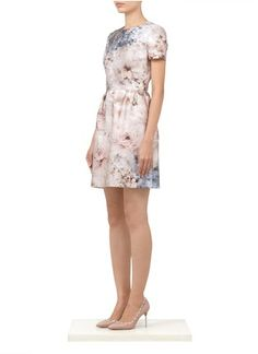 Valentino - Floral-print cotton-silk dress | Pink Casual Dresses | Womenswear | Lane Crawford - Shop Designer Brands Online