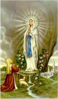 Menina Maria de Nazareth: NOVENA A NOSSA SENHORA DE LOURDES