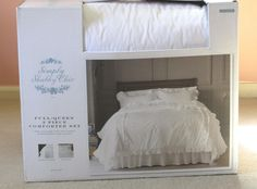 NEW Simply Shabby Chic ® Ruffled Heirloom White Comforter duvet set Queen/Full