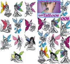 Latest Colored Fairy Tattoos Designs For Girls fairy tattoo designs - Tattoos And Body Art Fairy Tattoo Designs, Tattoo Designs For Girls, Small Tattoo Designs, Art Designs, Bible Tattoos, Body Art Tattoos, Tatoos, Native American Tattoos, African Tattoo