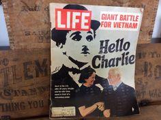 Vintage Estate Antique 1972 Life Magazine Charlie by MADVintology, $5.00
