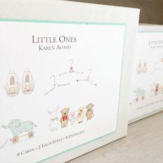 Karen Adams Designs Little Ones Gift Box Note Cards
