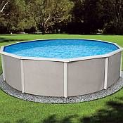 Belize Oval 12 x 24 x 52in  Pool and Liner Kit