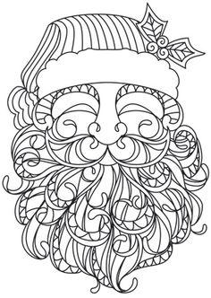 860307 Mendhika Santa design (UTH8766) from UrbanThreads.com