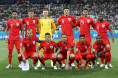 471df02710e The England team are seen prior to the 2018 FIFA World Cup Russia group G  match between Tunisia and England at Volgograd Arena on June 18 2018 in.
