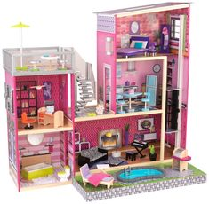 Dollhouses that will charm every little girl. Wide selection of the very best dolls houses.