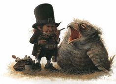 Jean Baptiste Monge (Nantes 1971). Is a French fantasy author and illustrator. Interest in magical creatures from fairy tales such as elves, giants and dwarf.
