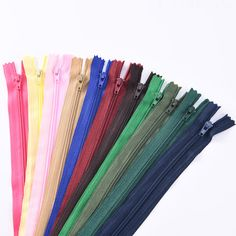 #3 colorful nylon zipper for garment sewing Hand Fan, Colorful, Zipper, Sewing, Dressmaking, Couture, Stitching, Zippers, Sew