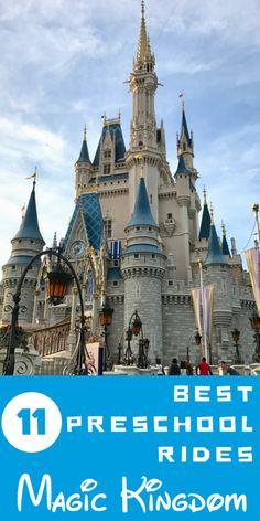 11 best rides at Walt Disney World's Magic Kingdom for Preschoolers