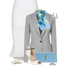 """Summer Office Style"" by kginger on Polyvore"