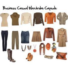 Capsule Wardrobe Idea