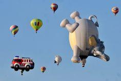 hot air balloons, Albuquerque International Balloon Fiesta