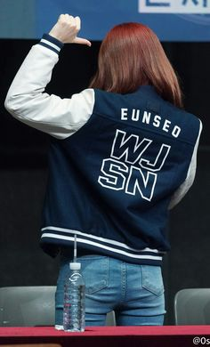 Photo album containing 8 pictures of Eunseo Yuehua Entertainment, Starship Entertainment, Kim Seol Hyun, Air Force Blue, Cheng Xiao, Space Girl, Cosmic Girls, Seulgi, Sweetie Belle