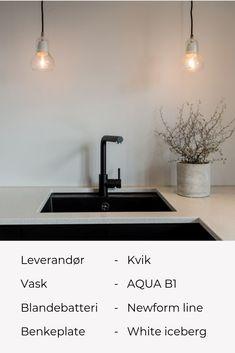 Nordic Kitchen, Kitchen Grey, Grey Kitchens, New Builds, Sink, Lights, Kitchen Designs, Interior, House