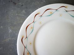 Starburst Restaur Plate by Shenango Retro Sputnik by susantique, $15.00
