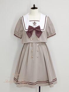 Kawaii Fashion, Lolita Fashion, Cute Fashion, Stage Outfits, Dress Outfits, Cool Outfits, Old Fashion Dresses, Fashion Outfits, Cosplay