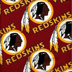 NFL Football Washington Redskins Cotton Fabric