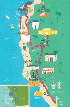Trail of the Month: Bird Rock Bike Path - San Diego Magazine - June 2018 - San Diego, California