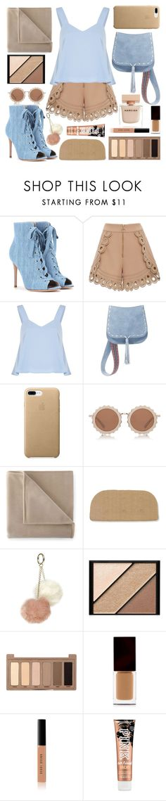 """BIBI."" by valemx ❤ liked on Polyvore featuring Gianvito Rossi, self-portrait, Steve Madden, House of Holland, Martex, Dorothy Perkins, Elizabeth Arden, Urban Decay, Serge Lutens and Bobbi Brown Cosmetics"
