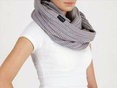 It's cold, right? Try to win this beautiful Gray Infinity Scarf and be stylish and warm - International Giveaway