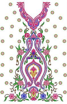 Sequins Jalabiya | Tunic | Kurti Embroidery Design
