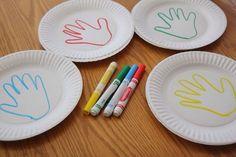 oficinabiblica: Pratos e contorno das mãos um jogo da memória dife...