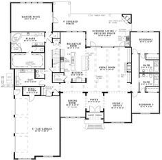 Waringford Traditional Home Plan 055S-0127 | House Plans and More