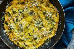 Fabio Trabocchi's Pecorino & Mint Frittata 8 large eggs ½ tsp ...