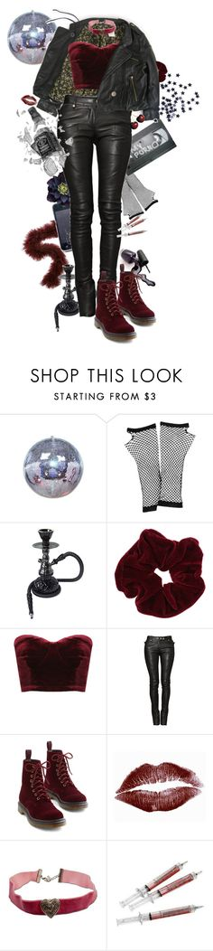 """""""Scarlette"""" by causingpanicatthetheater on Polyvore featuring Forever 21, Miss Selfridge, Balmain and Dr. Martens"""