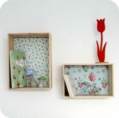 Etagère caisse décorative - Little Bohème