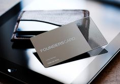 FoundersCard: The Black Card for Entrepreneurs and Innovators