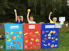 Another neat variation on a Human Fruit Machine