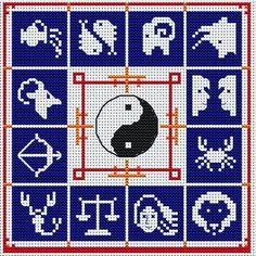 Zodiac Cross Stitch