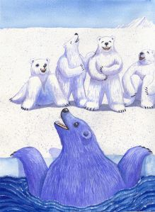 """Polar Bear Club"" Getting involved with your community can be exhilarating!"