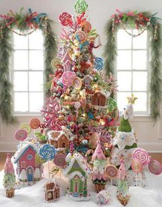 Candy Theme Christmas Tree – Christmas Tree Themes & Color Schemes
