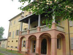 Villa Smeraldi, Museo della civiltà contadina - San Marino di Bentivoglio (BO) - Veduta lato posteriore della Villa.