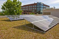 Northwest Health Eco Roof and Solar Panel