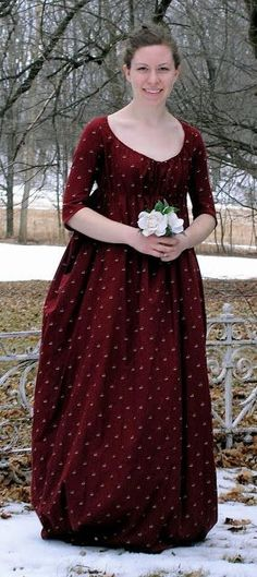 Image result for red plaid regency gown