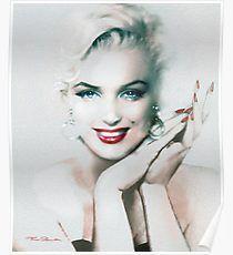VIDEO!!! Stunning New MARILYN MONROE Diamond Canvas Print Wall art