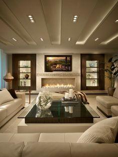 Wohnzimmer Gestaltung Holz Wandtfelung Ausgefallene Pendelleuchten